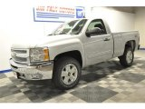 2012 Silver Ice Metallic Chevrolet Silverado 1500 LT Regular Cab 4x4 #68579746