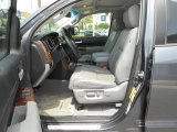 2010 Toyota Tundra Limited CrewMax Graphite Gray Interior