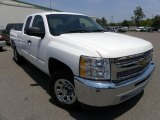 2012 Summit White Chevrolet Silverado 1500 LT Extended Cab #68579436
