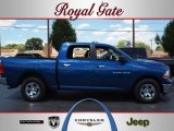 2011 Deep Water Blue Pearl Dodge Ram 1500 SLT Crew Cab #68579717