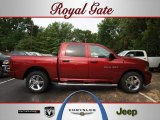 2012 Deep Cherry Red Crystal Pearl Dodge Ram 1500 Express Crew Cab 4x4 #68579699