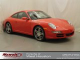 2008 Guards Red Porsche 911 Carrera S Coupe #68579420