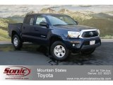 2012 Nautical Blue Metallic Toyota Tacoma V6 Double Cab 4x4 #68579054