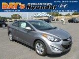 2013 Titanium Gray Metallic Hyundai Elantra Coupe GS #68579660