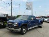 2003 Arrival Blue Metallic Chevrolet Silverado 3500 LT Crew Cab 4x4 Dually #68579389