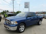 2011 Deep Water Blue Pearl Dodge Ram 1500 Big Horn Quad Cab #68579388