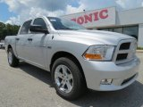 2012 Bright Silver Metallic Dodge Ram 1500 Express Crew Cab #68579378