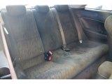 2007 Honda Civic EX Coupe Rear Seat
