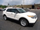 2013 White Platinum Tri-Coat Ford Explorer XLT 4WD #68579336