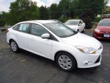 2012 Oxford White Ford Focus SE Sedan #68579328