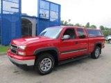 2006 Victory Red Chevrolet Silverado 1500 Z71 Extended Cab 4x4 #68579315