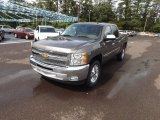 2012 Mocha Steel Metallic Chevrolet Silverado 1500 LT Crew Cab #68579601