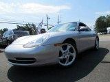 1999 Arctic Silver Metallic Porsche 911 Carrera Coupe #68631037