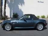 2001 BMW Z3 Special Order Blue-Grey Metallic
