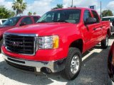 2008 GMC Sierra 2500HD SLE Crew Cab 4x4 Data, Info and Specs