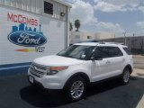 2013 Oxford White Ford Explorer XLT #68630737