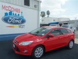 2012 Race Red Ford Focus SE 5-Door #68630733