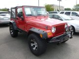 2006 Flame Red Jeep Wrangler SE 4x4 #68631008