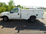 2001 Ford F350 Super Duty XL Regular Cab Utility Truck Data, Info and Specs