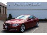 2012 Vermilion Red Metallic BMW 3 Series 328i Coupe #68630718