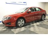 2010 Red Candy Metallic Ford Fusion SE #68630958