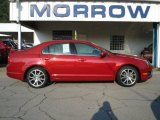 2010 Sangria Red Metallic Ford Fusion SE V6 #68664636