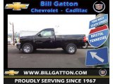 2013 Black Chevrolet Silverado 1500 Work Truck Regular Cab #68665027