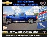 2012 Blue Topaz Metallic Chevrolet Silverado 1500 LT Crew Cab 4x4 #68665023