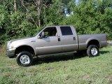 2004 Arizona Beige Metallic Ford F250 Super Duty Lariat Crew Cab 4x4 #68665017