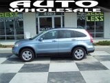 2010 Glacier Blue Metallic Honda CR-V EX-L AWD #68664808