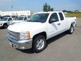 2013 Summit White Chevrolet Silverado 1500 LT Extended Cab 4x4 #68664931