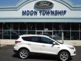 2013 White Platinum Metallic Tri-Coat Ford Escape Titanium 2.0L EcoBoost 4WD #68664736