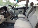 2009 Hyundai Accent GLS 4 Door Front Seat