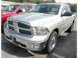 2012 Bright Silver Metallic Dodge Ram 1500 Big Horn Quad Cab 4x4 #68707773