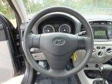 2009 Hyundai Accent GLS 4 Door Steering Wheel