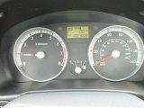 2009 Hyundai Accent GLS 4 Door Gauges