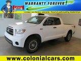 2010 Super White Toyota Tundra TRD Rock Warrior Double Cab 4x4 #68708090