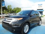 2011 Tuxedo Black Metallic Ford Explorer XLT #68707434