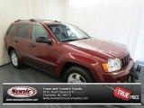 2006 Red Rock Crystal Pearl Jeep Grand Cherokee Laredo #68707725