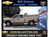 2000 Sunset Gold Metallic Chevrolet Silverado 1500 Z71 Extended Cab 4x4 #68708024