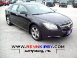 2012 Black Granite Metallic Chevrolet Malibu LT #68707697