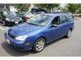 2005 Sonic Blue Metallic Ford Focus ZXW SES Wagon #68707622
