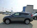 2012 Polished Metal Metallic Honda CR-V EX-L 4WD #68707913