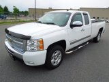 2009 Summit White Chevrolet Silverado 1500 LT Extended Cab #68707908