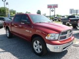 2009 Inferno Red Crystal Pearl Dodge Ram 1500 Big Horn Edition Crew Cab 4x4 #68707900