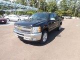 2013 Black Chevrolet Silverado 1500 LT Crew Cab #68707884