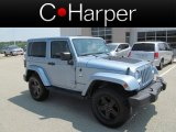 2012 Winter Chill Pearl Jeep Wrangler Sahara Arctic Edition 4x4 #68707245