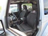 2012 Jeep Wrangler Sahara Arctic Edition 4x4 Front Seat