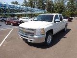 2013 White Diamond Tricoat Chevrolet Silverado 1500 LT Crew Cab 4x4 #68707883