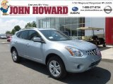 2012 Frosted Steel Nissan Rogue SV AWD #68707855